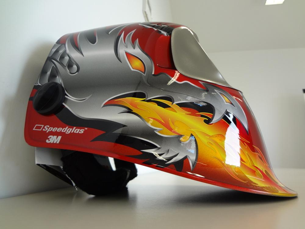 masque automatique speedglass 100v t8 12 razor dragon 3m. Black Bedroom Furniture Sets. Home Design Ideas