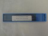 Electrodes tungstène nertal ø1,6mm