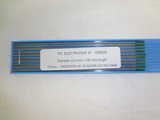 Electrodes tungstène nertal ø 2,0mm