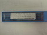 Electrodes tungstène nertal S ø 1,6mm