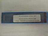 Electrodes tungstène nertal S ø 2,0mm