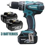 PERCEUSE VISSEUSE SANS FIL MAKITA 18 VOLTS LITHIUM BDF456RF3