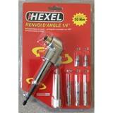 Renvoie d'angle 1/4'' usage intensif HEXEL XD2