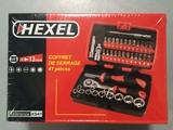 Coffret de douilles ultra compact 41 pièces HEXEL XS41