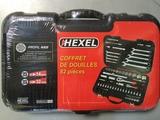 Coffret de douilles 1/4''-1/2'' 82 pièces HEXEL FX82