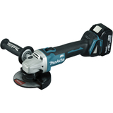 Meuleuse Makita 125 mm 18 V Li-Ion 5 Ah