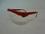 Lunettes PIVOLUX monture rouge